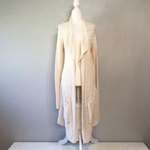 Anthropologie Angel of the North Crochet Cardigan